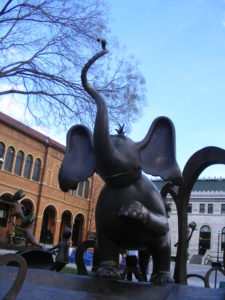 statue of Horton the Elephant